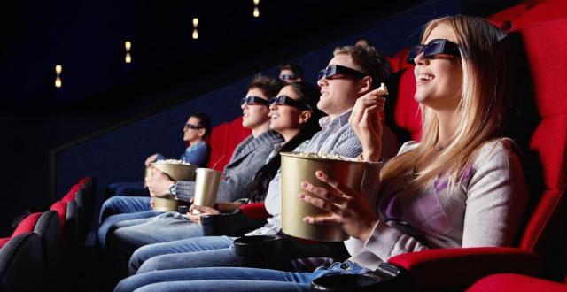 Популярность кинотеатров