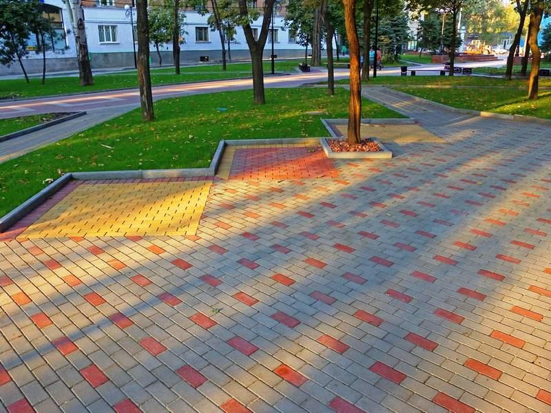 Популярность тротуарной плитки