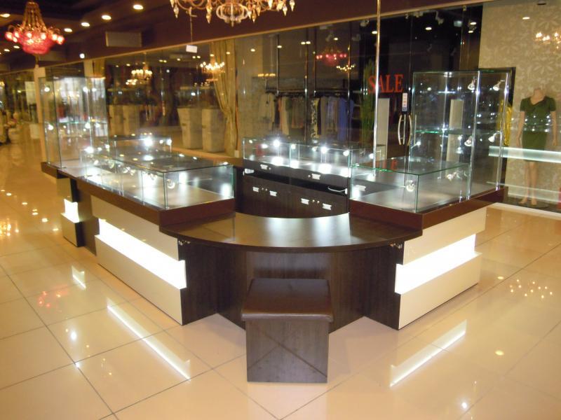 Расположение магазина по продаже бижутерии
