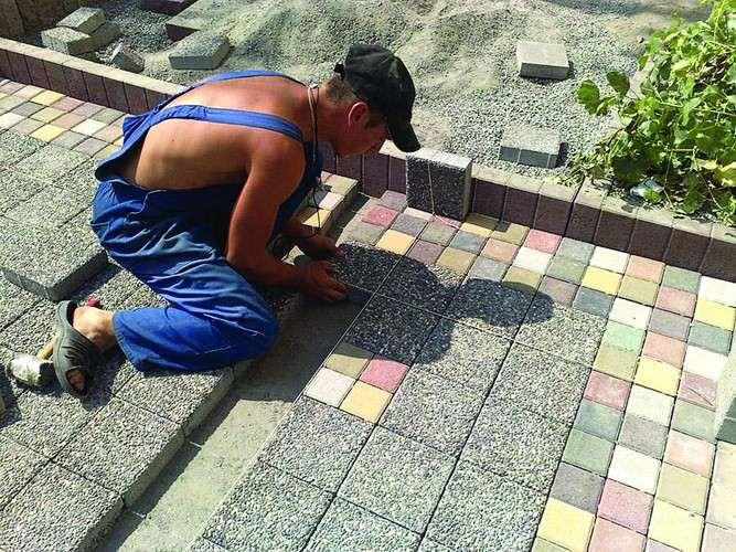 Реализация тротуарной плитки