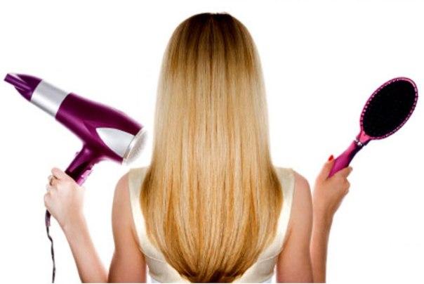 Результат хорошего ухода за волосами