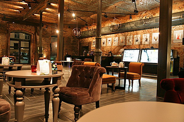 Современная кофейня