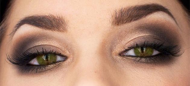 Создание красивого макияжа для зеленых глаз