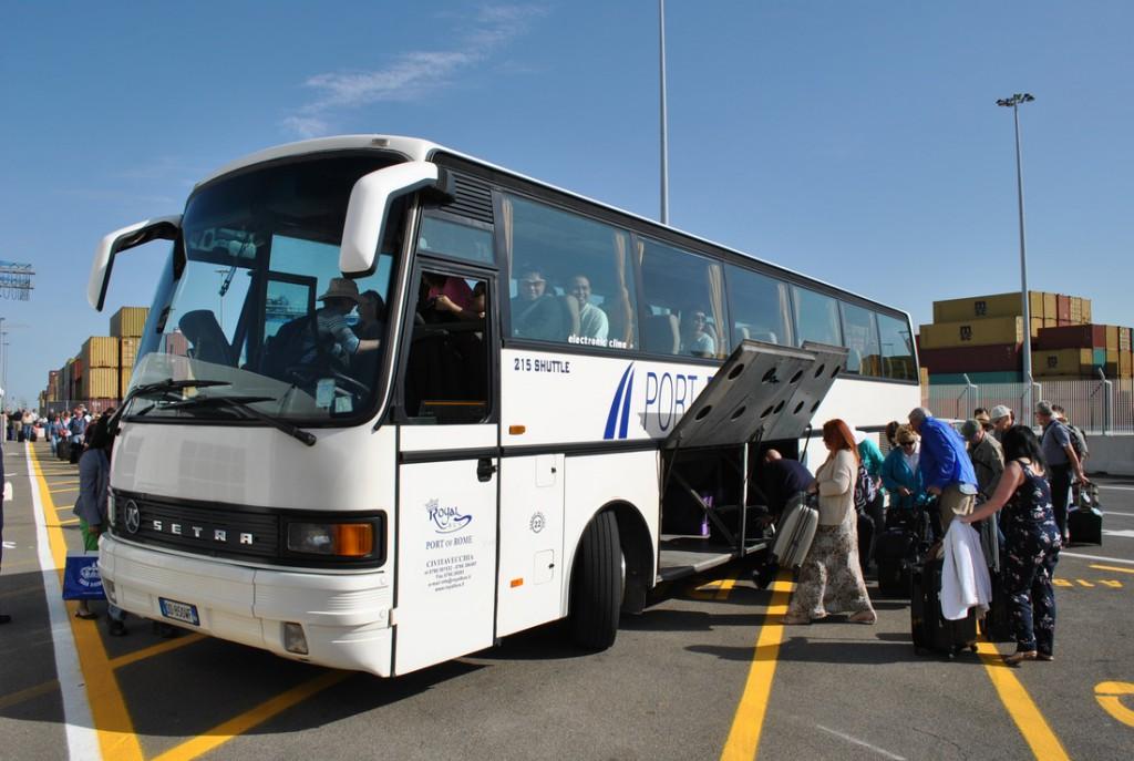Стоянки автобусов