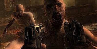Стрельба в зомби
