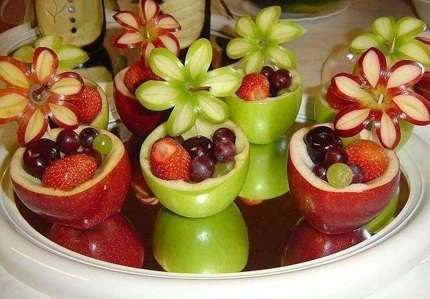 как сделать машинку из фруктов своими руками