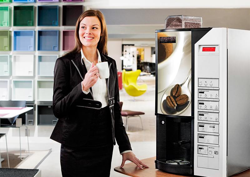 Целевая аудитория для кофейных автоматов