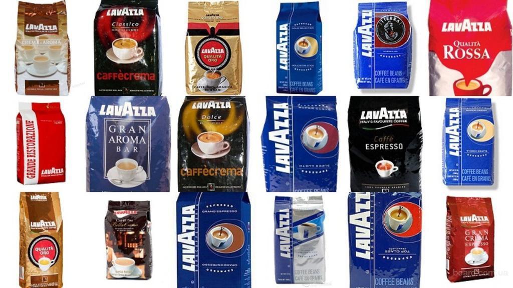 Широкий ассортимент кофе