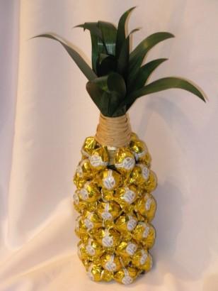 Украшаем в виде ананаса