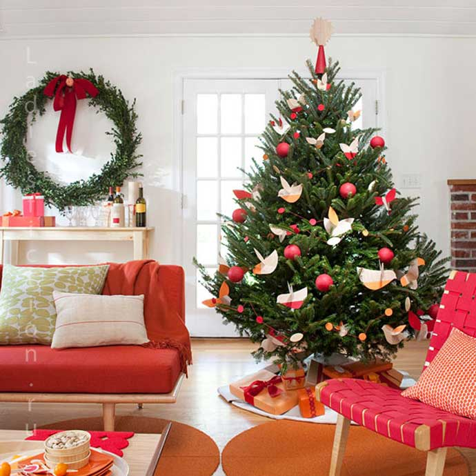Декорирование елки