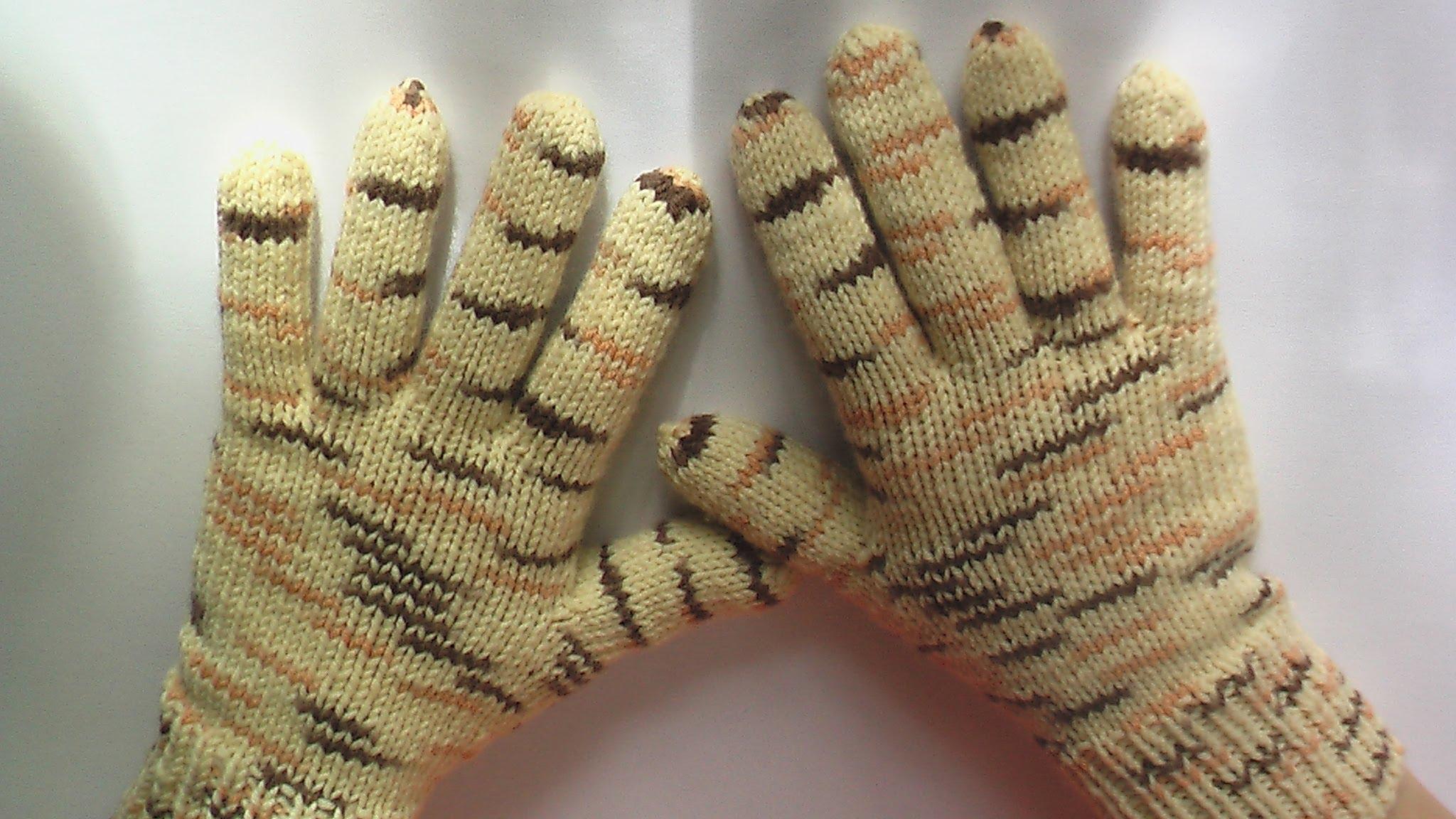 Перчатки вязаные своими руками фото 349
