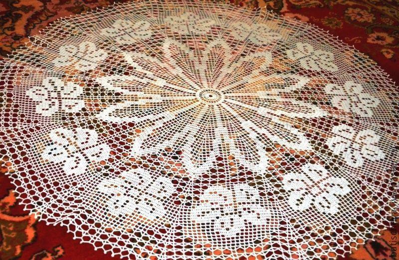 Салфетка круглой формы