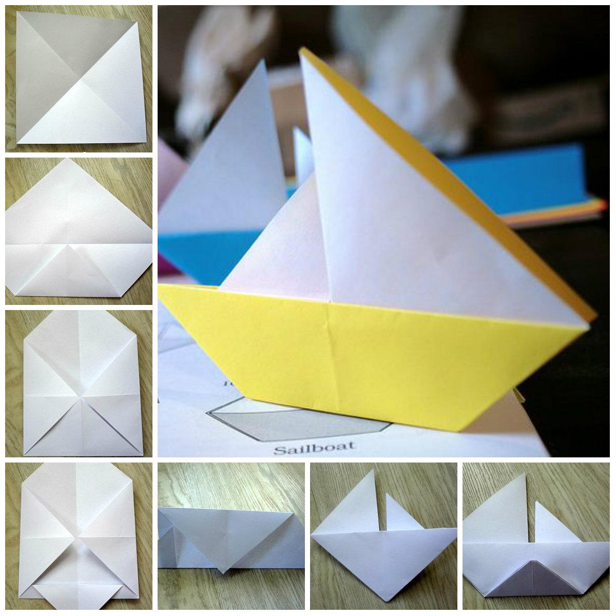 Как сделать кораблик своими руками схема