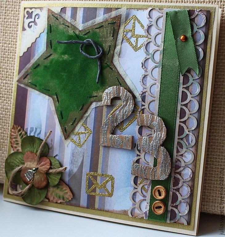 Машина раскраска, 23 февраля открытка ручной работы