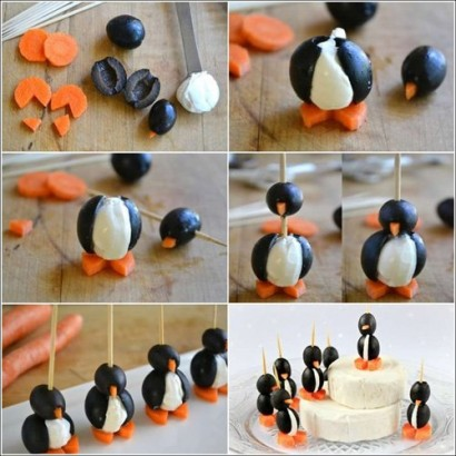 Делаем новогодних пингвинов