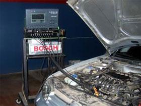 Анализ состава выхлопных газов, фото