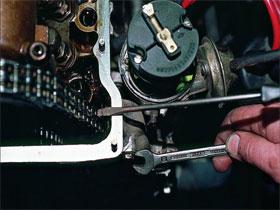 Диагностика состояния цепи привода распределительного вала, фото