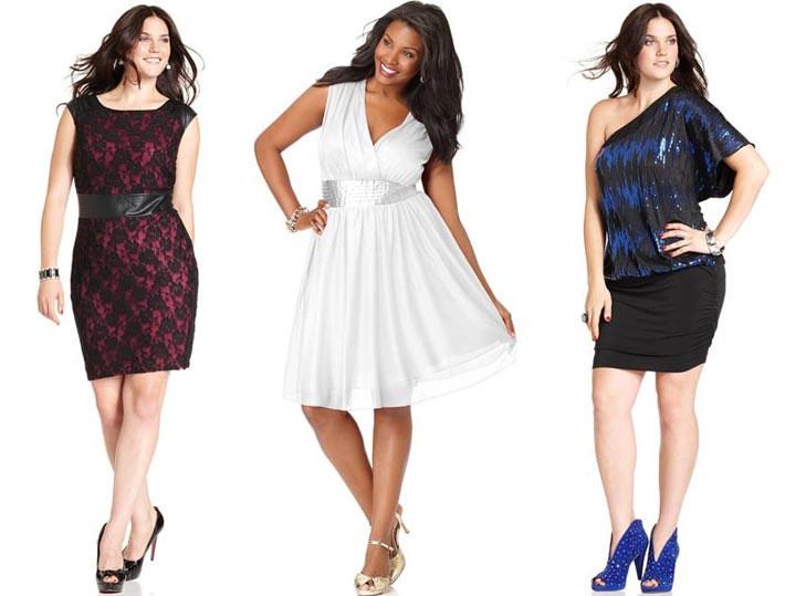 Эти стильные и модные платья для полных женщин и девушек подойдут для вечеринок и не деловых встреч, фото