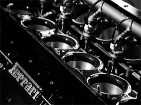 Формула рабочего объема двигателя, фото