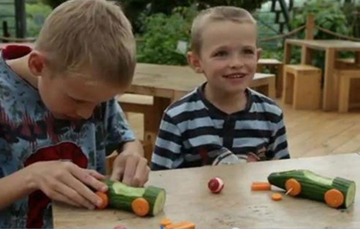 Гоночные машины - поделки для детей, фото