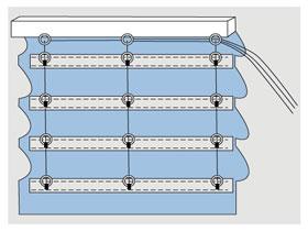 Инструкция пошив римских штор своими руками, фото