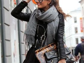 Как красиво завязать шарф, фото