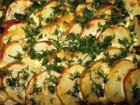 Как правильно запечь картошку в духовке, фото
