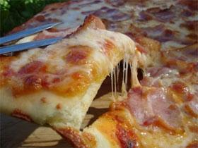 Как сделать пиццу без дрожжей, фото