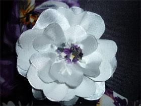 Как сделать цветок из ткани самому, фото