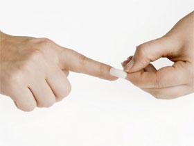 Как снять наращенные ногти, фото