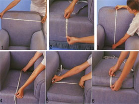 Как сшить чехол на кресло самому, фото