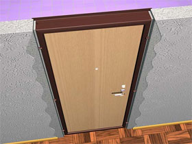 Как установить двери, фото