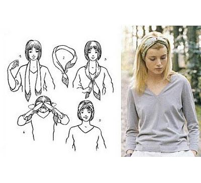 Как завязывать платки на голову фото, фото