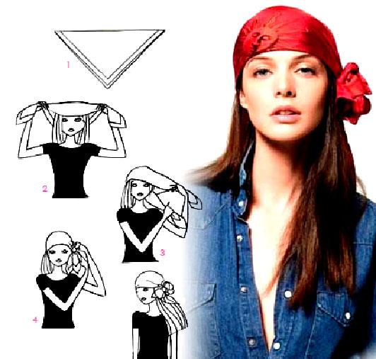 Как завязывать платки на голову в стиле кармен, фото