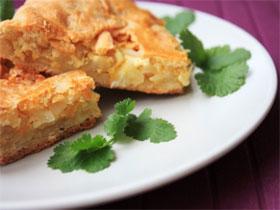 Капустная начинка для несладкого пирога, фото