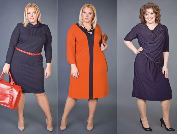 Хорошие и стильные платья для полных женщин, фото