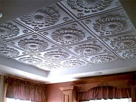Клеевые потолки, фото