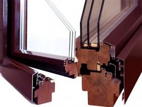 Комбинированные окна, фото