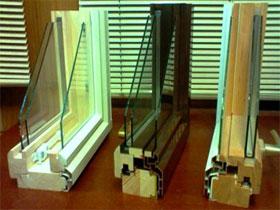 Конструктивные виды комбинированных окон, фото
