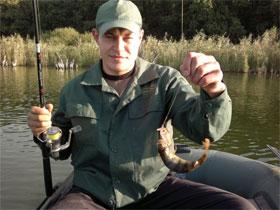 Ловля рыбы равномерной проводкой, фото