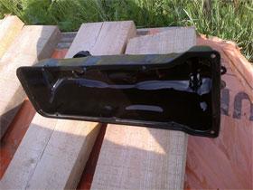 Отложения на крышке головки блока цилиндров, фото