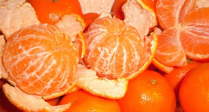 Почему возникает аллергия на мандарины, фото