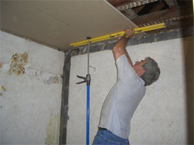 Потолок из гипсокартона своими руками, фото