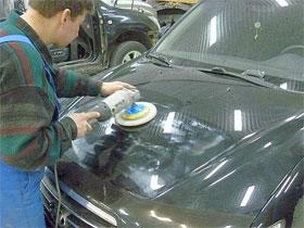 Правильная полировка кузова автомобиля, фото
