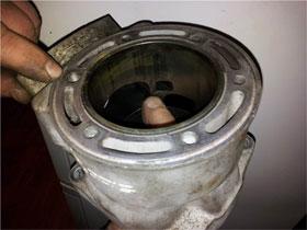 Ремонт трещин цилиндров, фото