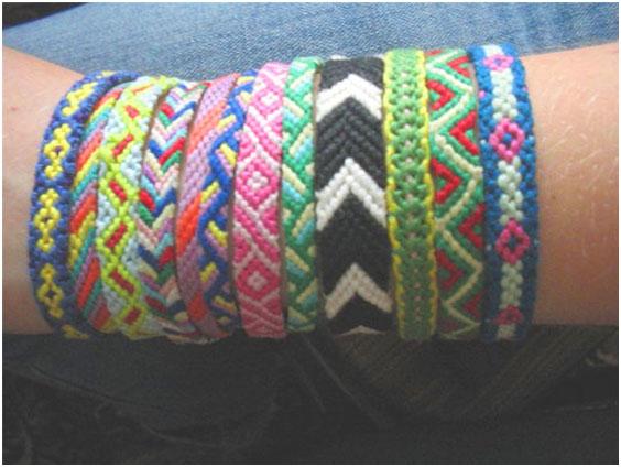 Схема плетения ниток мулине 6, фото
