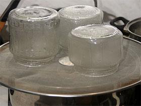 Стерилизация банок для закрывания, фото