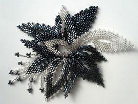 Техника плетения бисером для начинающих, фото
