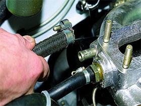 Впускные коллекторы карбюраторных двигателей, фото