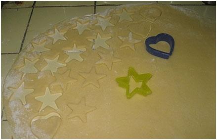 елочные игрушки из соленого теста, фото